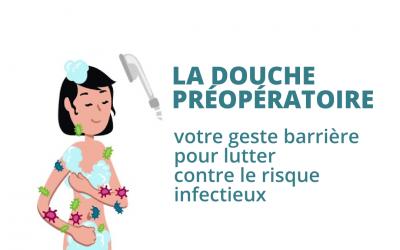 Le soin de la douche préopératoire : une mesure nécessaire pour réduire le risque infectieux